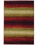 RugStudio presents Orian Wild Weave Skyline lava Machine Woven, Better Quality Area Rug