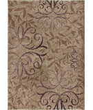 RugStudio presents Orian Wild Weave Dorian 1607 Gold / Cream / Beige Machine Woven, Good Quality Area Rug