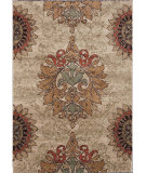 RugStudio presents Orian Wild Weave Jacqueline 1609 Gold / Cream / Beige Machine Woven, Good Quality Area Rug