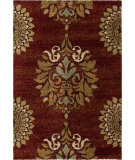 RugStudio presents Orian Wild Weave Jacqueline 1610 Red / Burgundy Machine Woven, Good Quality Area Rug