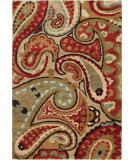 RugStudio presents Orian Wild Weave Paisley 1617 Multi Machine Woven, Good Quality Area Rug