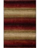 RugStudio presents Orian Wild Weave Skyline 1623 Red / Burgundy Machine Woven, Good Quality Area Rug
