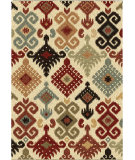 RugStudio presents Orian Wild Weave Chandra 1632 Gold / Cream / Beige Machine Woven, Good Quality Area Rug