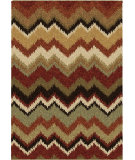 RugStudio presents Orian Wild Weave Pilgrim 1653 Red / Burgundy Machine Woven, Good Quality Area Rug