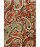 RugStudio presents Orian Wild Weave Paisley 1617 Multi Machine Woven, Better Quality Area Rug