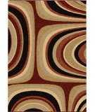 RugStudio presents Orian Wild Weave Malia lava Machine Woven, Better Quality Area Rug
