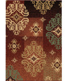 RugStudio presents Orian Wild Weave Salado rouge Machine Woven, Better Quality Area Rug