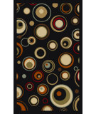RugStudio presents Ottomanson Ottohome Ot0203 Black Machine Woven, Good Quality Area Rug