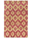 RugStudio presents Tommy Bahama Ansley 50901 Fuchsia Hand-Knotted, Good Quality Area Rug