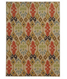 RugStudio presents Sphinx By Oriental Weavers Arabella 15765 Beige/Multi Machine Woven, Good Quality Area Rug