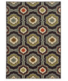 RugStudio presents Sphinx By Oriental Weavers Arabella 15834 Black/Grey Machine Woven, Good Quality Area Rug