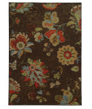 RugStudio presents Sphinx By Oriental Weavers Arabella 41908 Brown Machine Woven, Good Quality Area Rug