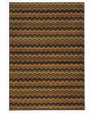 RugStudio presents Sphinx By Oriental Weavers Aston 2068f Brown Machine Woven, Good Quality Area Rug