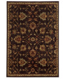 RugStudio presents Sphinx By Oriental Weavers Aston 505n9 Dark Brown Machine Woven, Good Quality Area Rug