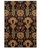 RugStudio presents Sphinx By Oriental Weavers Aston 5502d Brown/Gold Machine Woven, Good Quality Area Rug