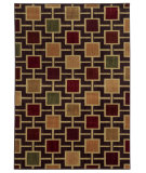 RugStudio presents Sphinx By Oriental Weavers Aston 8025d Brown/Beige Machine Woven, Good Quality Area Rug