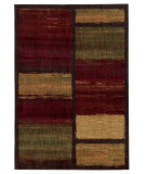 RugStudio presents Sphinx By Oriental Weavers Aston 8026x Brown Machine Woven, Good Quality Area Rug
