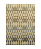 RugStudio presents Sphinx By Oriental Weavers Brentwood 001h9 Ivory/Blue Machine Woven, Good Quality Area Rug