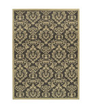 RugStudio presents Sphinx By Oriental Weavers Brentwood 530k9 Charcoal/Ivory Machine Woven, Good Quality Area Rug