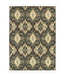 RugStudio presents Sphinx By Oriental Weavers Brentwood 531k9 Ivory/Blue Machine Woven, Good Quality Area Rug