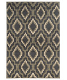RugStudio presents Sphinx By Oriental Weavers Brentwood 5501d Charcoal/Grey Machine Woven, Good Quality Area Rug