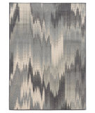 RugStudio presents Sphinx By Oriental Weavers Brentwood 8020l Blue Grey Machine Woven, Good Quality Area Rug
