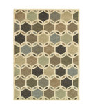 RugStudio presents Sphinx By Oriental Weavers Brentwood 090w9 Ivory/Multi Machine Woven, Good Quality Area Rug