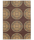 RugStudio presents Tommy Bahama Cabana 501m2 Brown Machine Woven, Good Quality Area Rug