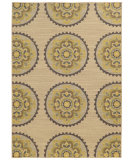 RugStudio presents Tommy Bahama Cabana 501x2 Beige Machine Woven, Good Quality Area Rug