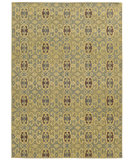 RugStudio presents Tommy Bahama Cabana 5501g Gold Machine Woven, Good Quality Area Rug