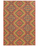 RugStudio presents Tommy Bahama Cabana 621c2 Rose Machine Woven, Good Quality Area Rug