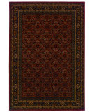 RugStudio presents Sphinx By Oriental Weavers Cambridge 180c2 Burgundy Machine Woven, Good Quality Area Rug