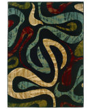 RugStudio presents Sphinx By Oriental Weavers Camden 2234a Black Machine Woven, Good Quality Area Rug