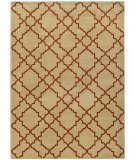 RugStudio presents Sphinx By Oriental Weavers Casablanca 5178e Beige / Rust Machine Woven, Good Quality Area Rug