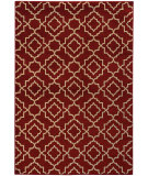 RugStudio presents Sphinx By Oriental Weavers Ella 5185e Red / Beige Machine Woven, Good Quality Area Rug