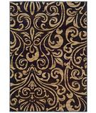 RugStudio presents Sphinx by Oriental Weavers Emerson 2033C Black Machine Woven, Good Quality Area Rug