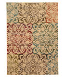 RugStudio presents Sphinx By Oriental Weavers Emerson 4872a Beige Machine Woven, Good Quality Area Rug