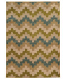 RugStudio presents Sphinx By Oriental Weavers Emerson 4876c Beige/Tan Machine Woven, Good Quality Area Rug