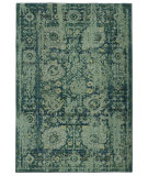 RugStudio presents PANTONE UNIVERSE Expressions 3333g Blue/ Green Machine Woven, Good Quality Area Rug