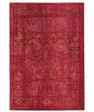 RugStudio presents PANTONE UNIVERSE Expressions 3333r Pink/ Red Machine Woven, Good Quality Area Rug