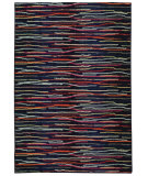 RugStudio presents PANTONE UNIVERSE Expressions 3540h Blue/ Multi Machine Woven, Good Quality Area Rug