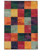 RugStudio presents PANTONE UNIVERSE Expressions 566c5 Blue/ Pink Machine Woven, Good Quality Area Rug