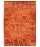 RugStudio presents PANTONE UNIVERSE Expressions 5997c Orange/ Pink Machine Woven, Good Quality Area Rug