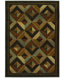 RugStudio presents Sphinx By Oriental Weavers Genesis 956q1 Gold Machine Woven, Good Quality Area Rug