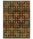 RugStudio presents Sphinx By Oriental Weavers Genesis 096j1 Brown Machine Woven, Good Quality Area Rug