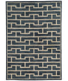 RugStudio presents Sphinx By Oriental Weavers Harper 46177 Blue / Beige Machine Woven, Good Quality Area Rug