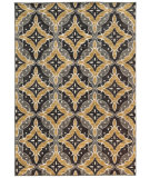RugStudio presents Sphinx By Oriental Weavers Harper 46181 Charcoal / Gold Machine Woven, Good Quality Area Rug