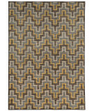 RugStudio presents Sphinx By Oriental Weavers Harper 46248 Grey / Gold Machine Woven, Good Quality Area Rug