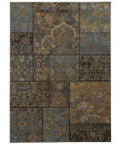 RugStudio presents Sphinx By Oriental Weavers Heritage 1336h Charcoal / Blue Machine Woven, Good Quality Area Rug