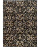 RugStudio presents Sphinx By Oriental Weavers Heritage 2163d Blue / Gold Machine Woven, Good Quality Area Rug